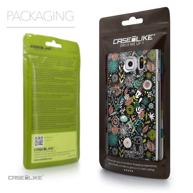 Packaging - CASEiLIKE Samsung Galaxy S6 back cover Spring Forest Black 2244