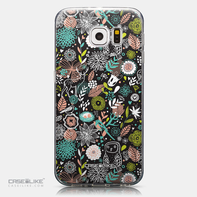 CASEiLIKE Samsung Galaxy S6 back cover Spring Forest Black 2244