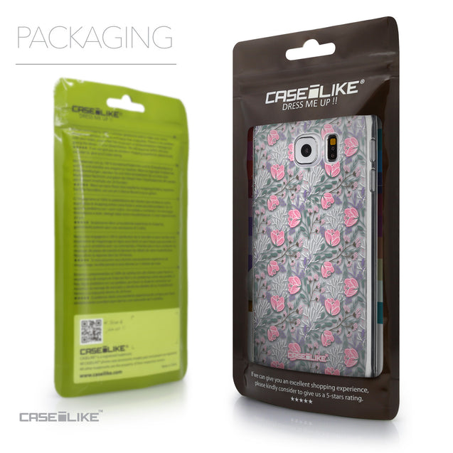 Packaging - CASEiLIKE Samsung Galaxy S6 back cover Flowers Herbs 2246