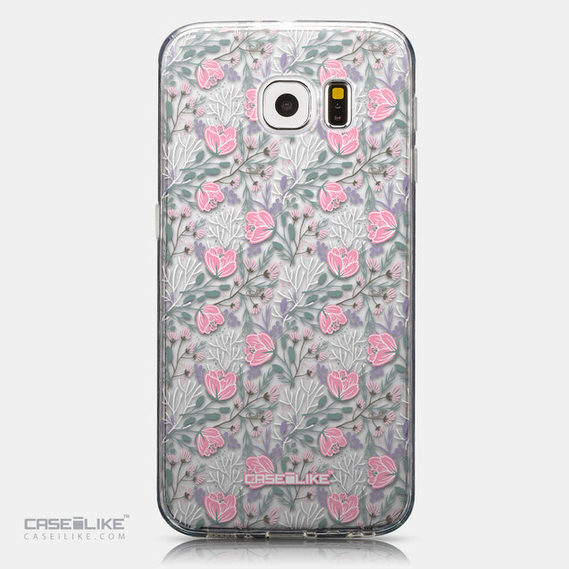 CASEiLIKE Samsung Galaxy S6 back cover Flowers Herbs 2246