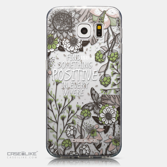 CASEiLIKE Samsung Galaxy S6 back cover Blooming Flowers 2250