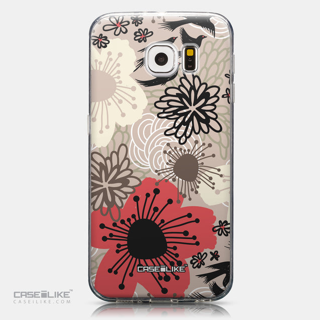 CASEiLIKE Samsung Galaxy S6 back cover Japanese Floral 2254