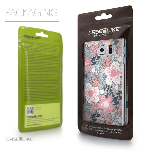 Packaging - CASEiLIKE Samsung Galaxy S6 back cover Japanese Floral 2255