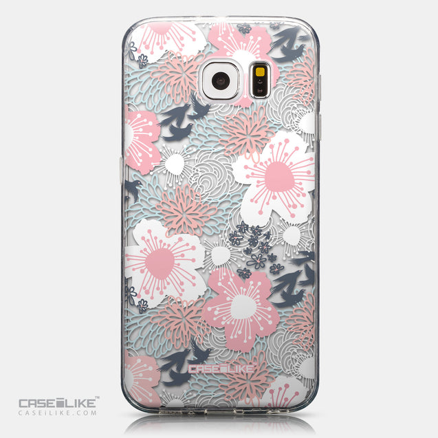 CASEiLIKE Samsung Galaxy S6 back cover Japanese Floral 2255