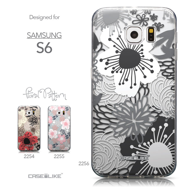 Collection - CASEiLIKE Samsung Galaxy S6 back cover Japanese Floral 2256