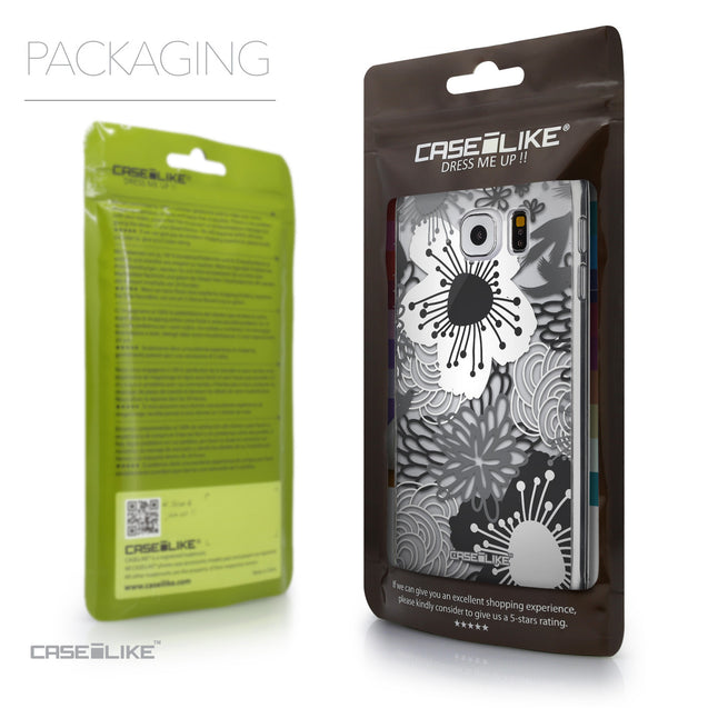 Packaging - CASEiLIKE Samsung Galaxy S6 back cover Japanese Floral 2256