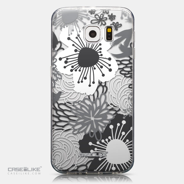 CASEiLIKE Samsung Galaxy S6 back cover Japanese Floral 2256