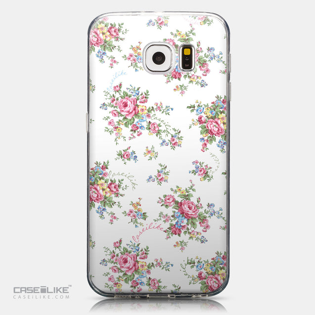 CASEiLIKE Samsung Galaxy S6 back cover Floral Rose Classic 2260