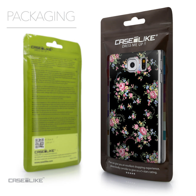 Packaging - CASEiLIKE Samsung Galaxy S6 back cover Floral Rose Classic 2261
