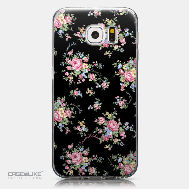 CASEiLIKE Samsung Galaxy S6 back cover Floral Rose Classic 2261