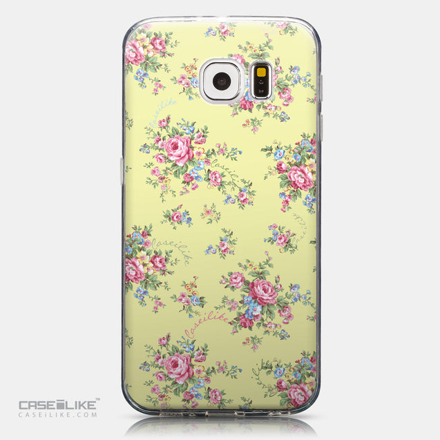 CASEiLIKE Samsung Galaxy S6 back cover Floral Rose Classic 2264