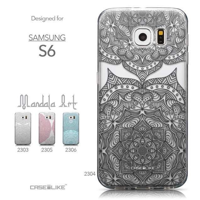 Collection - CASEiLIKE Samsung Galaxy S6 back cover Mandala Art 2304