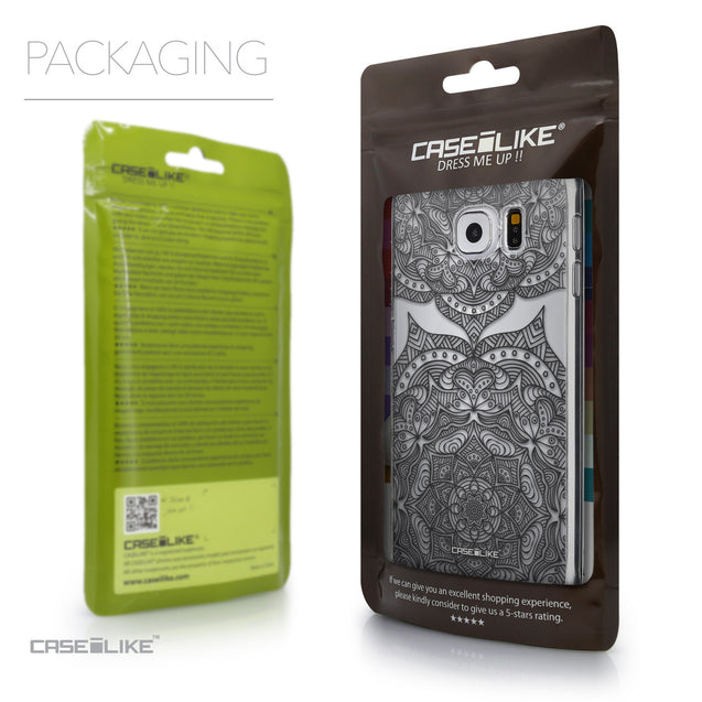 Packaging - CASEiLIKE Samsung Galaxy S6 back cover Mandala Art 2304