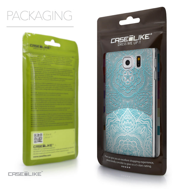 Packaging - CASEiLIKE Samsung Galaxy S6 back cover Mandala Art 2306