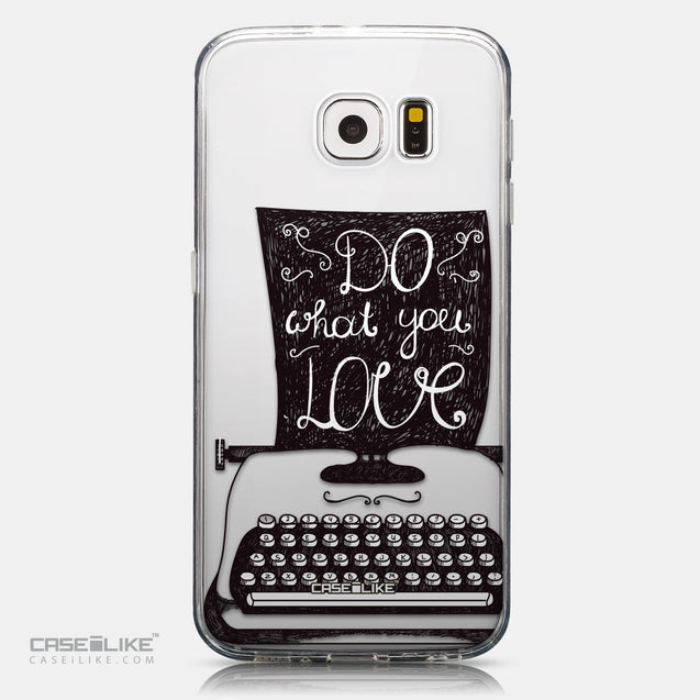 CASEiLIKE Samsung Galaxy S6 back cover Quote 2400