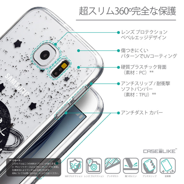 Details in Japanese - CASEiLIKE Samsung Galaxy S6 back cover Quote 2401