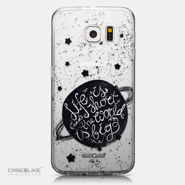 CASEiLIKE Samsung Galaxy S6 back cover Quote 2401