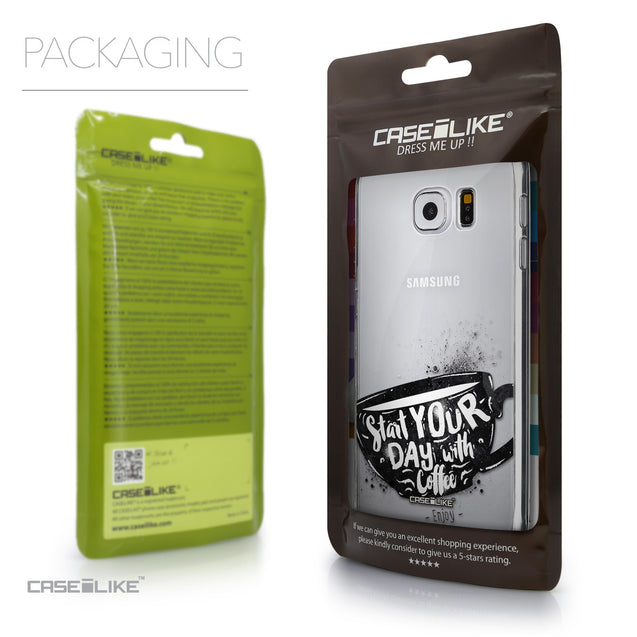 Packaging - CASEiLIKE Samsung Galaxy S6 back cover Quote 2402