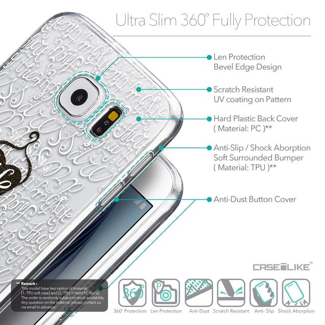 Details in English - CASEiLIKE Samsung Galaxy S6 back cover Indian Tribal Theme Pattern 2053