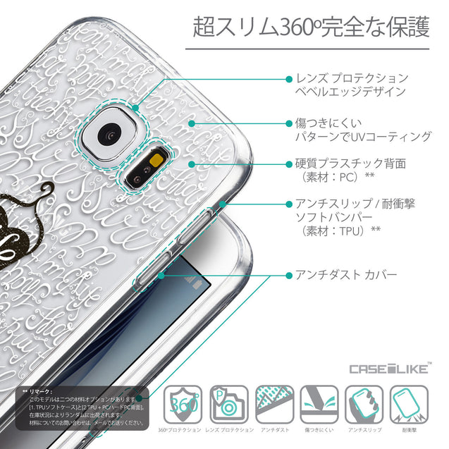Details in Japanese - CASEiLIKE Samsung Galaxy S6 back cover Indian Tribal Theme Pattern 2053
