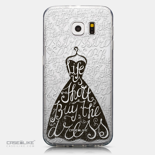 CASEiLIKE Samsung Galaxy S6 back cover Quote 2404
