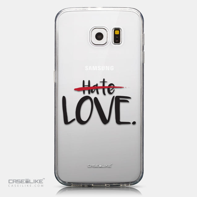 CASEiLIKE Samsung Galaxy S6 back cover Quote 2406