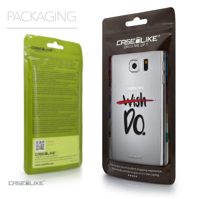 Packaging - CASEiLIKE Samsung Galaxy S6 back cover Quote 2407