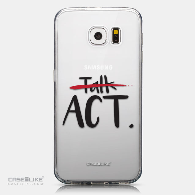 CASEiLIKE Samsung Galaxy S6 back cover Quote 2408
