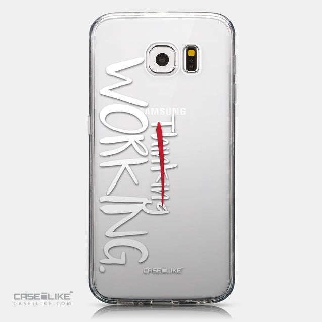 CASEiLIKE Samsung Galaxy S6 back cover Quote 2411