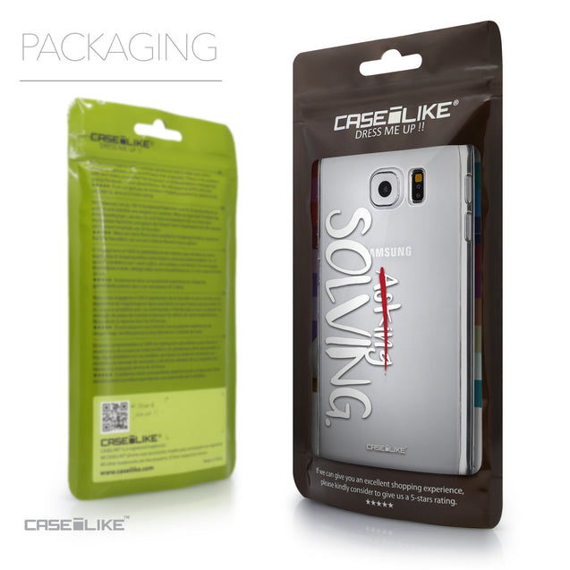 Packaging - CASEiLIKE Samsung Galaxy S6 back cover Quote 2412