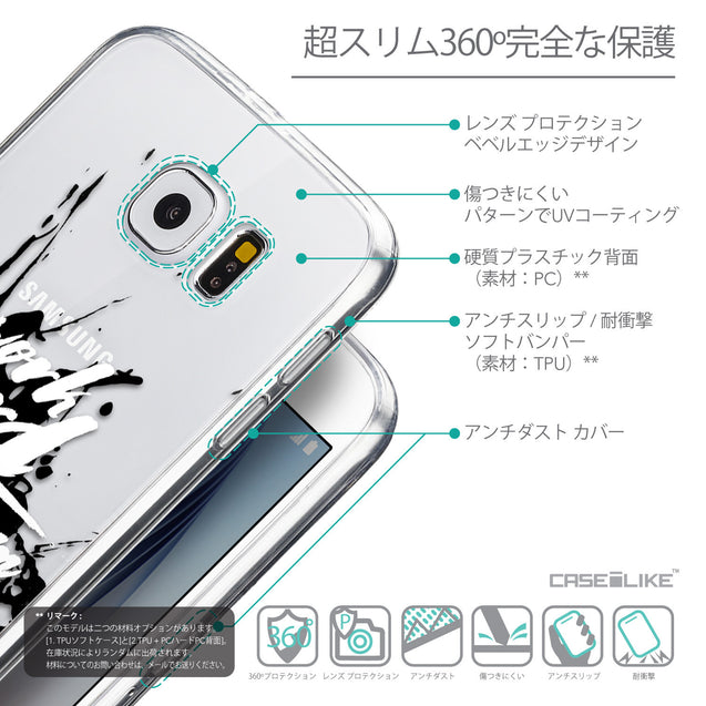 Details in Japanese - CASEiLIKE Samsung Galaxy S6 back cover Quote 2414