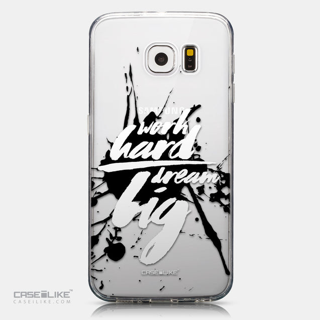 CASEiLIKE Samsung Galaxy S6 back cover Quote 2414