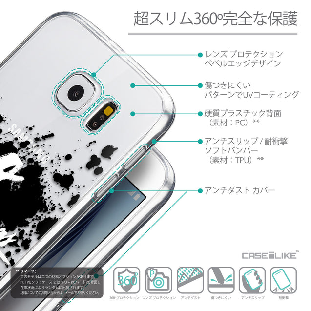 Details in Japanese - CASEiLIKE Samsung Galaxy S6 back cover Quote 2415