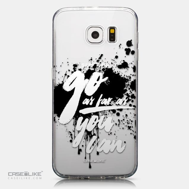 CASEiLIKE Samsung Galaxy S6 back cover Quote 2415