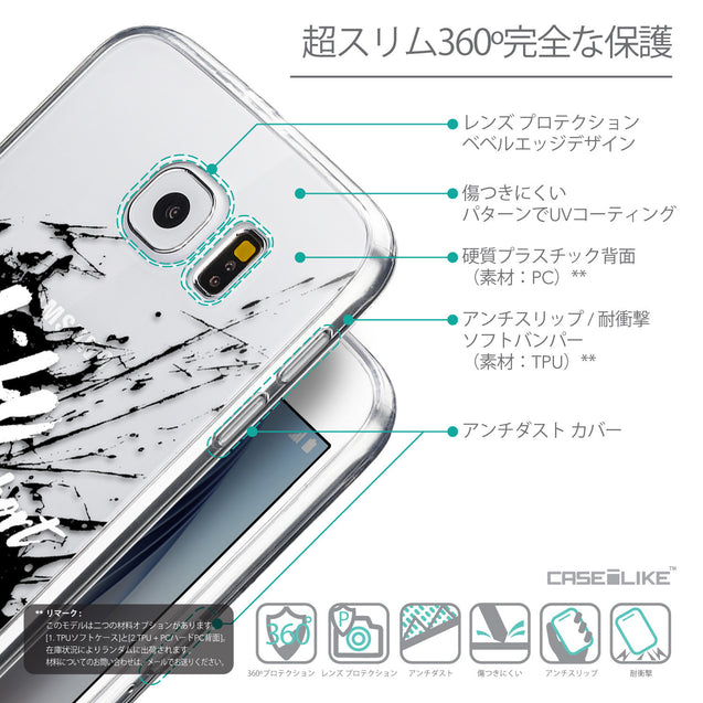 Details in Japanese - CASEiLIKE Samsung Galaxy S6 back cover Quote 2416
