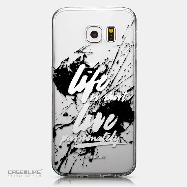 CASEiLIKE Samsung Galaxy S6 back cover Quote 2416