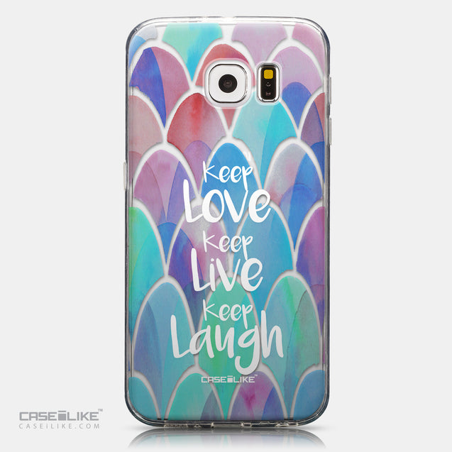 CASEiLIKE Samsung Galaxy S6 back cover Quote 2417