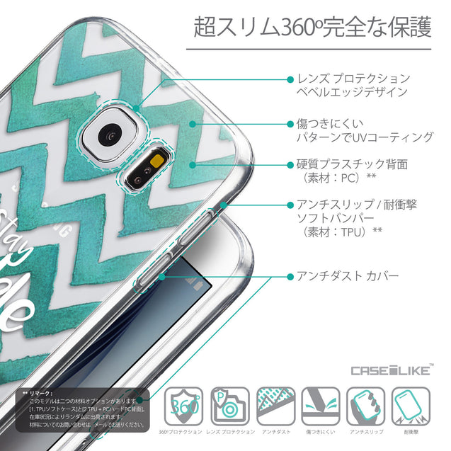 Details in Japanese - CASEiLIKE Samsung Galaxy S6 back cover Quote 2418