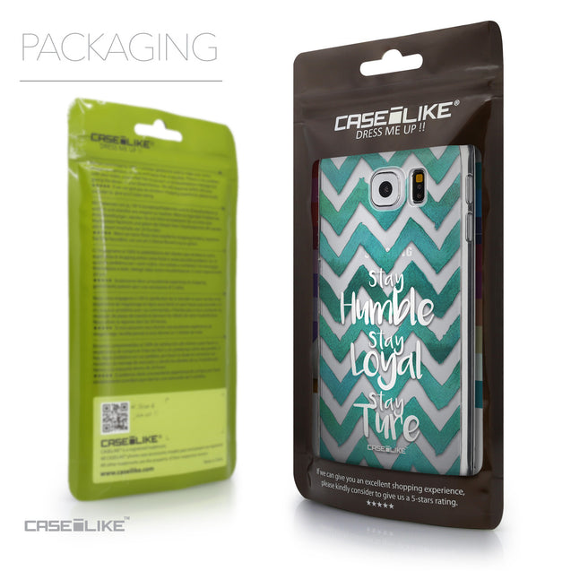 Packaging - CASEiLIKE Samsung Galaxy S6 back cover Quote 2418