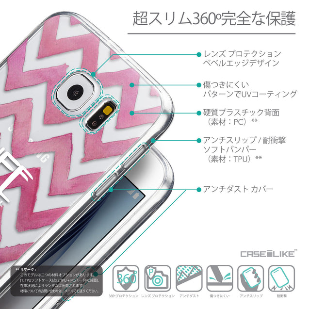 Details in Japanese - CASEiLIKE Samsung Galaxy S6 back cover Quote 2419