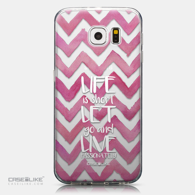 CASEiLIKE Samsung Galaxy S6 back cover Quote 2419