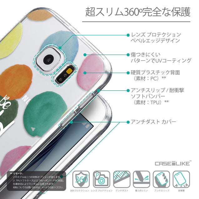 Details in Japanese - CASEiLIKE Samsung Galaxy S6 back cover Quote 2420