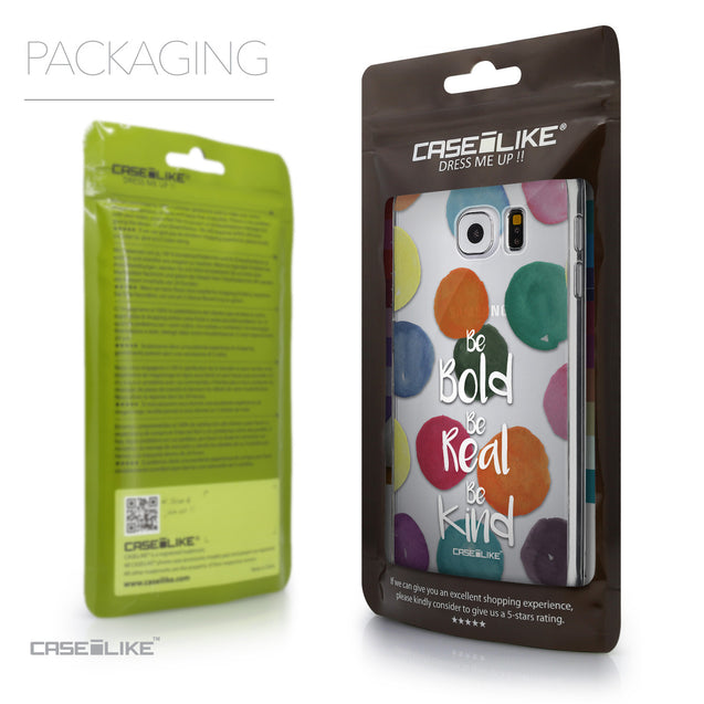 Packaging - CASEiLIKE Samsung Galaxy S6 back cover Quote 2420