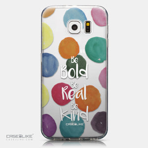 CASEiLIKE Samsung Galaxy S6 back cover Quote 2420