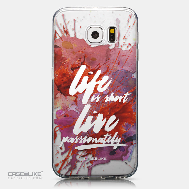 CASEiLIKE Samsung Galaxy S6 back cover Quote 2423