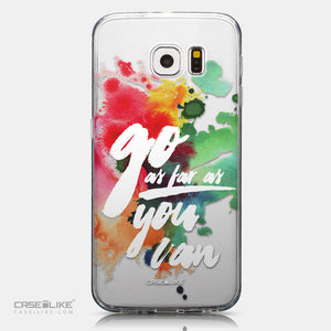 CASEiLIKE Samsung Galaxy S6 back cover Quote 2424