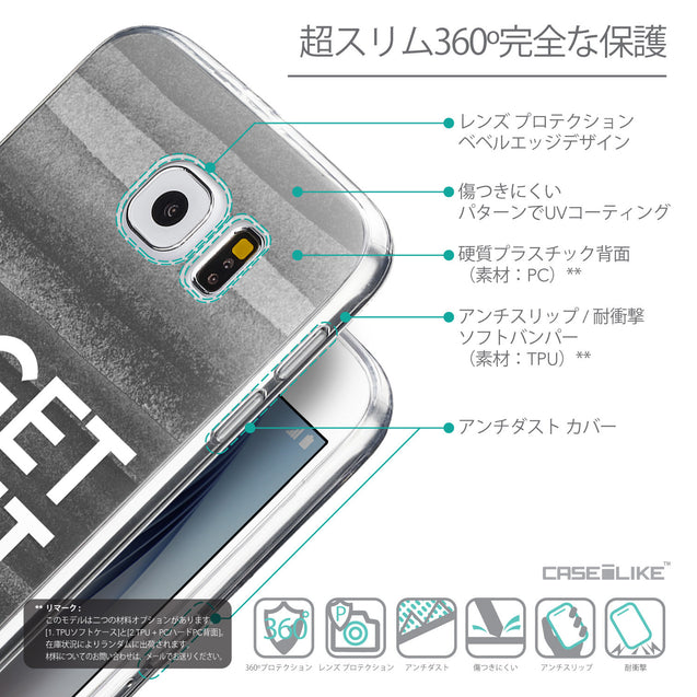 Details in Japanese - CASEiLIKE Samsung Galaxy S6 back cover Quote 2429