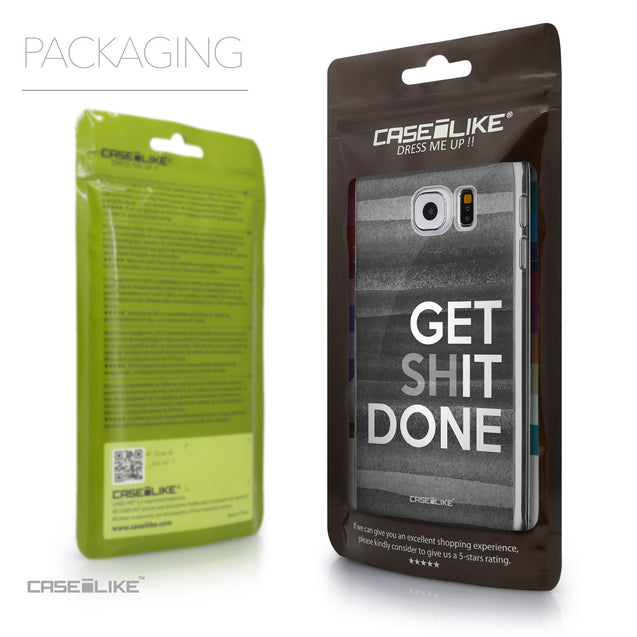 Packaging - CASEiLIKE Samsung Galaxy S6 back cover Quote 2429