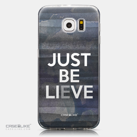 CASEiLIKE Samsung Galaxy S6 back cover Quote 2430