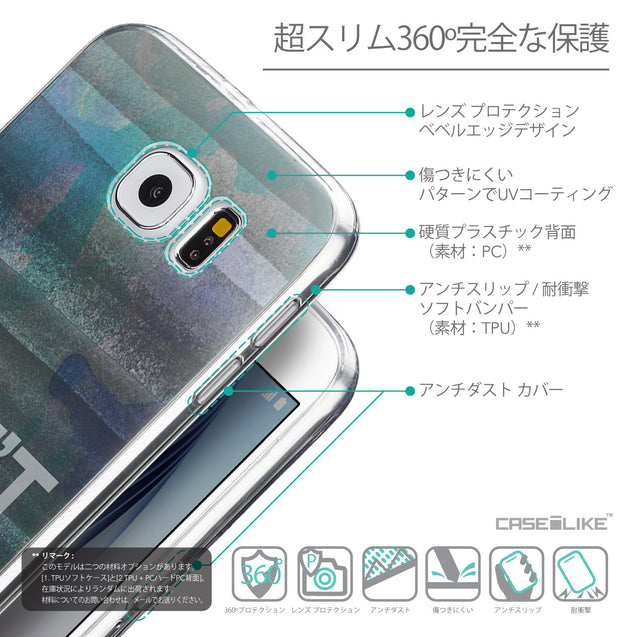 Details in Japanese - CASEiLIKE Samsung Galaxy S6 back cover Quote 2431